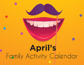 April Family Activity Calendar