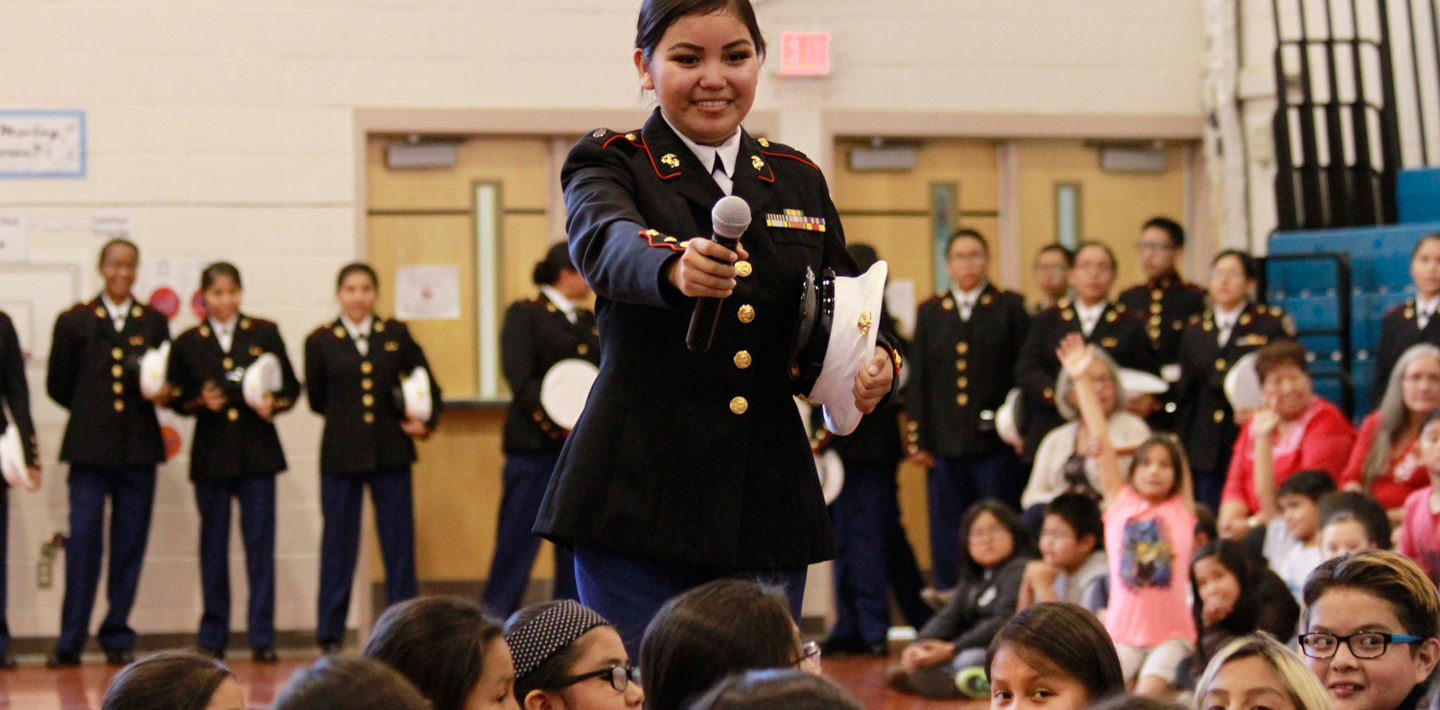 A celebration of Veterans Day at CCSD