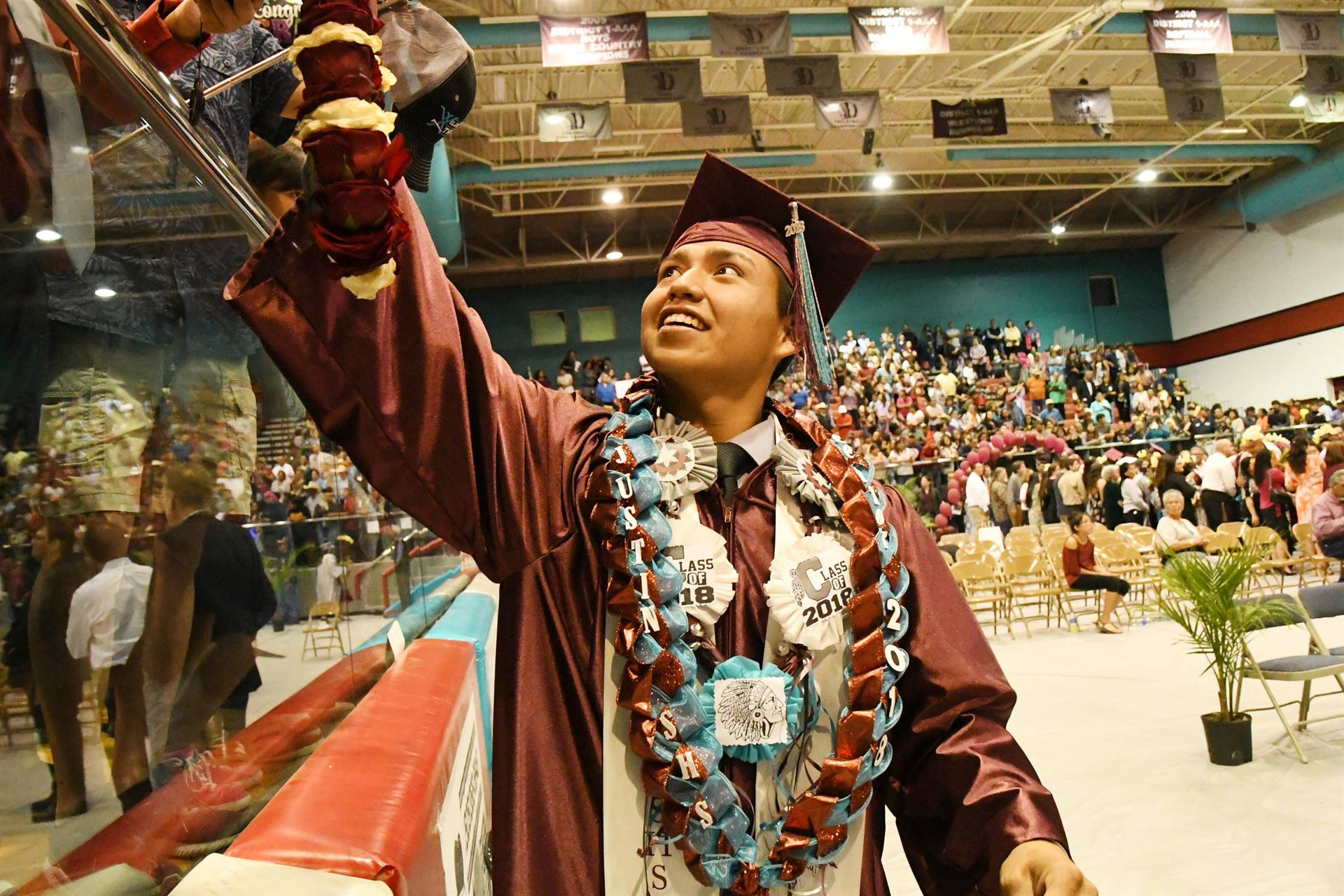 Graduates from Shiprock High School