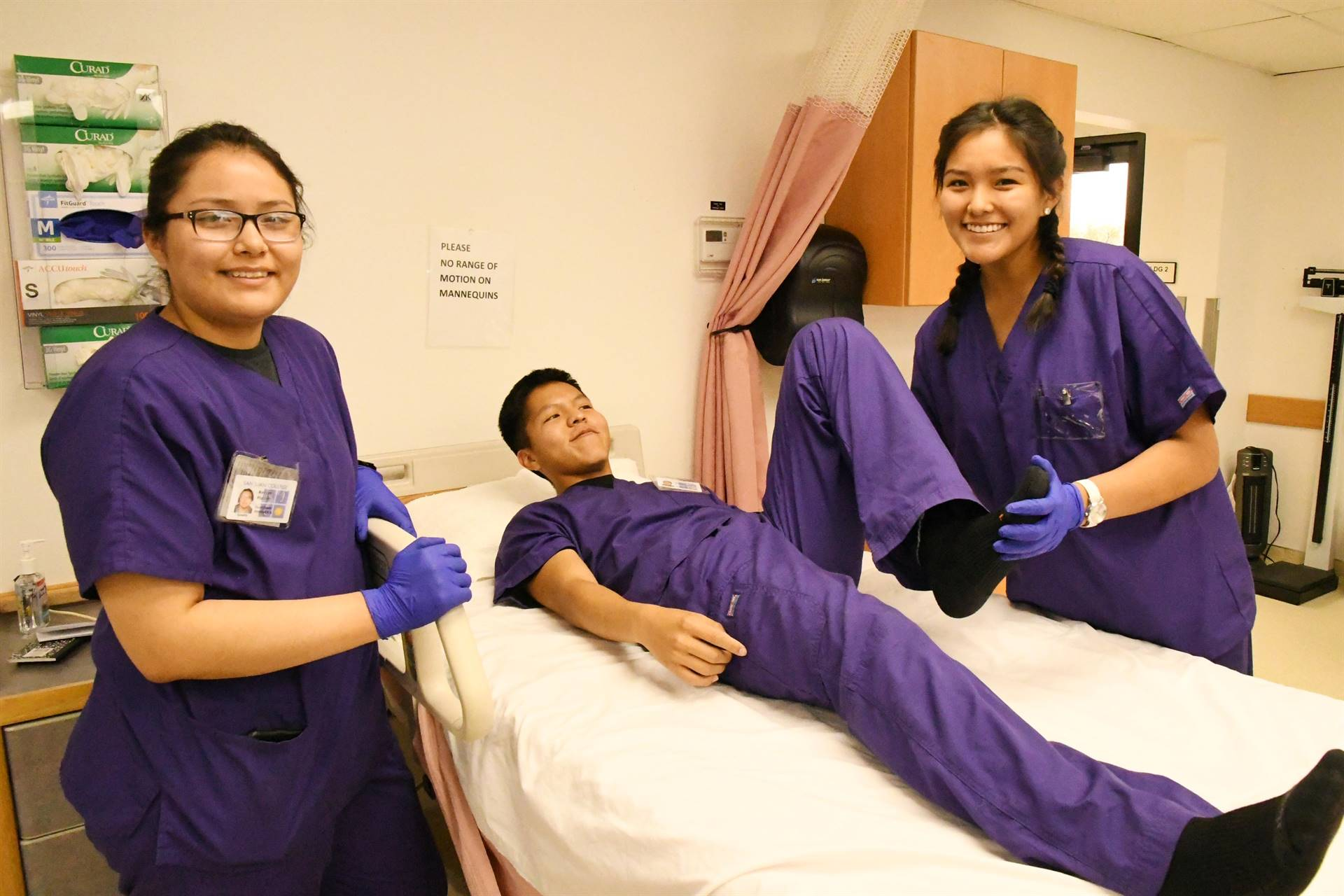 Nursing program students