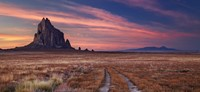 The Shiprock pinnacle, in Shiprock, New Mexico