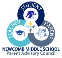 Teacher, Student, Parent - Newcomb Middle School Parent Advisory Council logo