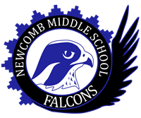 Newcomb Middle School Falcons logo